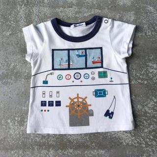 familiar - ファミリア 半袖Tシャツ 船 80サイズ