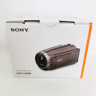 SONY - SONY ソニー HDR-CX680(TI) ビデオカメラ ブラウン
