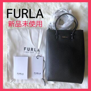 Furla - フルラ エッセンシャルミニ クロスボディバッグ ブラック 黒 プレゼント 新作