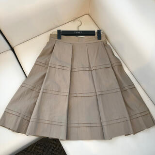 FOXEY - FOXEY NEW YORK エスプレッソカラーの綺麗なフレアースカート