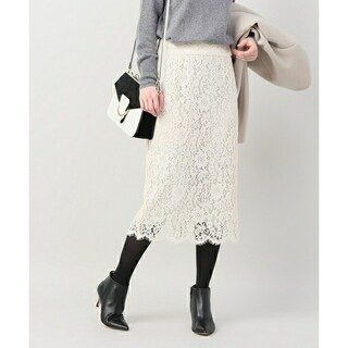 IENA - IENA*レースタイトスカート