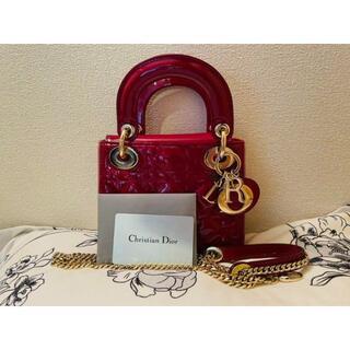 Dior - 【美品】LADY DIOR ミニバッグ カナージュ