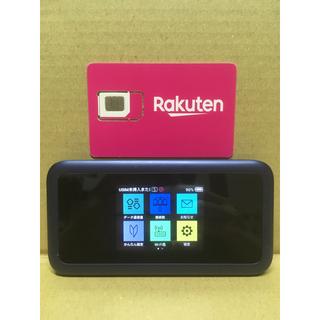 ソフトバンク(Softbank)の楽天モバイル設定済 Y!mobile 801HW SIMロック解除済 ルーター(スマートフォン本体)