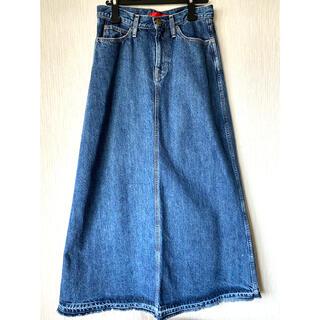 ビームス(BEAMS)のレッドカード ビームス デニムロングスカート デニムスカート(ロングスカート)