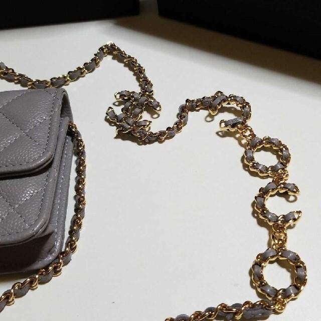 CHANEL(シャネル)の☆Sweetie様専用☆CHANEL☆新作チェーンクラッチ☆ レディースのバッグ(ショルダーバッグ)の商品写真