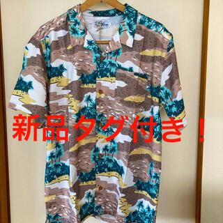 レインスプーナー(Reyn Spooner)の新品タグ付き!reyn spooner ボタニカル総柄 オープンカラーシャツ(シャツ)