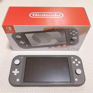 Nintendo Switch - 任天堂 スイッチライト本体 Nintendo Switch Lite グレー
