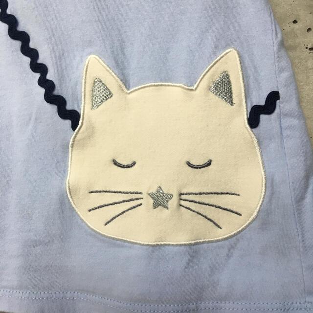 petit main(プティマイン)のプティマイン  ねこ 100サイズ キッズ/ベビー/マタニティのキッズ服女の子用(90cm~)(Tシャツ/カットソー)の商品写真