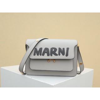 Marni - MARNI ライトグレー ショルダーバッグ