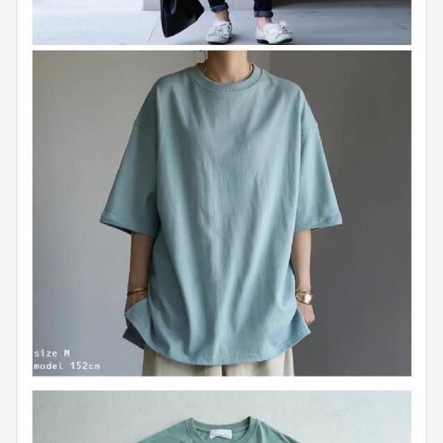 antiqua(アンティカ)のantiqua アンティカレディース トップス半袖 TシャツビックT L レディースのトップス(Tシャツ(半袖/袖なし))の商品写真