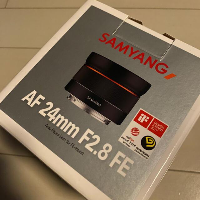 SAMYANG AF24mm F2.8 FE スマホ/家電/カメラのカメラ(レンズ(単焦点))の商品写真