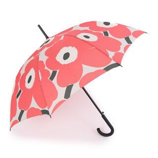 マリメッコ(marimekko)の新品 マリメッコ  ウニッコ  長傘 ワンタッチ  ピンク(傘)