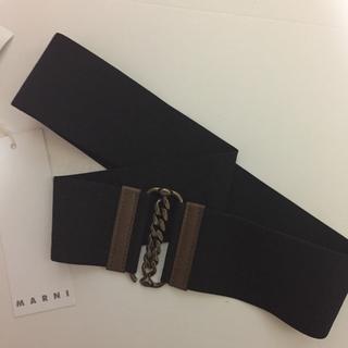 マルニ(Marni)のmarni 新品未使用タグ付き 幅広ベルト(ベルト)