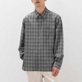 COMOLI - AURALEE 21SS チェックシャツ