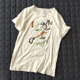 ランバンオンブルー(LANVIN en Bleu)の美品 ランバンオンブルーTシャツ(Tシャツ(半袖/袖なし))