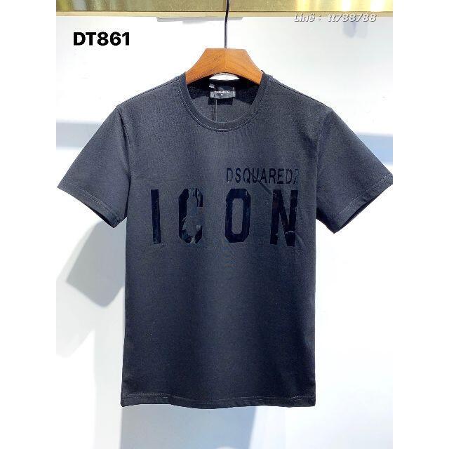 DSQUARED2(ディースクエアード)のDSQUARED2(#56) 2枚9000 Tシャツ 半袖 M-3XLサイズ選択 メンズのメンズ その他(その他)の商品写真
