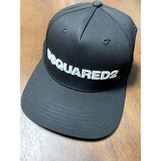 ディースクエアード(DSQUARED2)の新品 DSQUARED2 ディースクエアード キャップ メンズ 帽子 ブラック(キャップ)