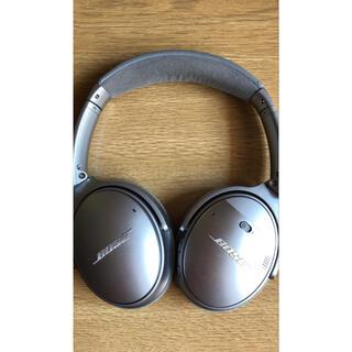 ボーズ(BOSE)のBOSE QUIETCOMFORT 35 SILVER ワイヤレスヘッドホン(ヘッドフォン/イヤフォン)