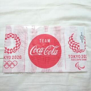 コカコーラ(コカ・コーラ)のオリンピック てぬぐい(ノベルティグッズ)