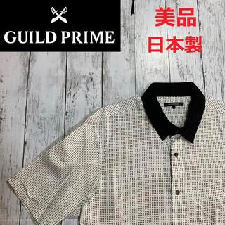 GUILD PRIME - 美品【GUILD PRIME】ギルドプライム 半袖シャツ 日本製 サイズ2