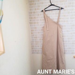 アントマリーズ(Aunt Marie's)のAUNT MARIE'S  アシメジャンパースカート(ロングワンピース/マキシワンピース)
