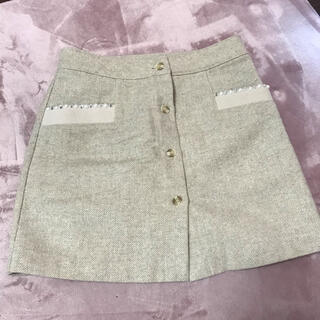 ミシェルマカロン(michellMacaron)の台形スカート♡美品(ミニスカート)