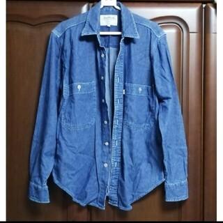 リーバイス(Levi's)のLevi's リーバイス デニムシャツ ネイビー 綿100% メンズS(シャツ)