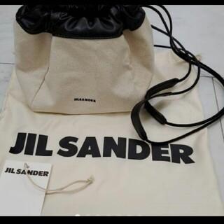Jil Sander - 新品未使用 ジルサンダー ドローストリングバッグ ショルダーバッグ