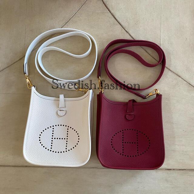 Hermes(エルメス)のリピーター様・レア 新品・エルメス・ミニエブリン・ナタ×ゴールド金具 レディースのバッグ(ショルダーバッグ)の商品写真