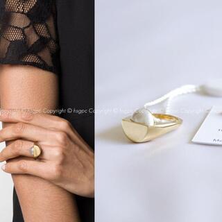 Maison Martin Margiela - メゾン マルジェラ パール カット リング 指輪 アクセサリー
