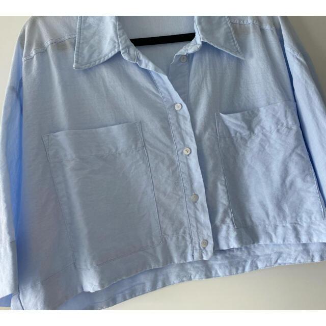 ZARA(ザラ)のZARA シャツ レディースのトップス(シャツ/ブラウス(半袖/袖なし))の商品写真