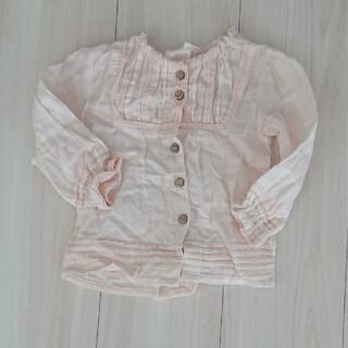 ニシマツヤ(西松屋)の子供服ブラウス 80cm 美品(シャツ/カットソー)