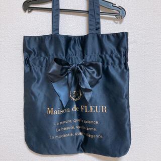 Maison de FLEUR - メゾンドフルール リボントートバッグ