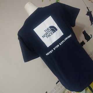 THE NORTH FACE - THE NORTH FACE 新品 スクエアロゴ Tシャツ バックプリント