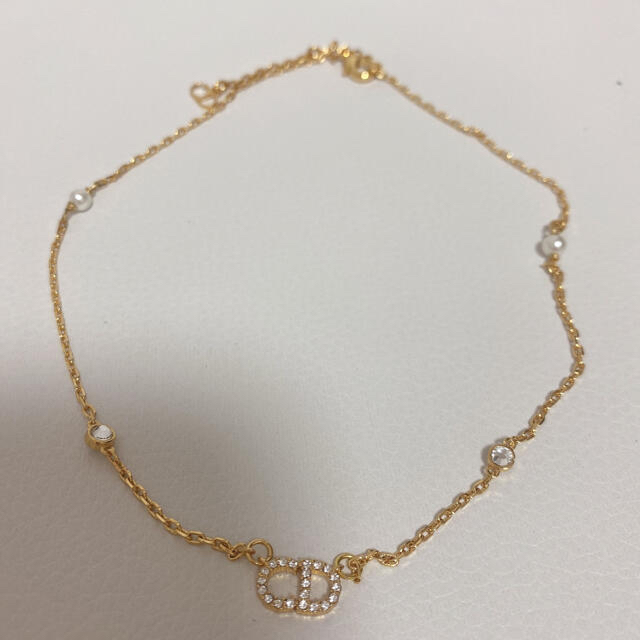 Christian Dior(クリスチャンディオール)のDior ネックレス ロゴ レディースのアクセサリー(ネックレス)の商品写真