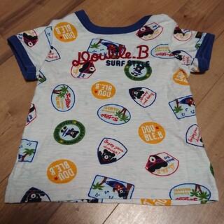 DOUBLE.B - 複数回着用  DOUBLE.B Tシャツ 100cm