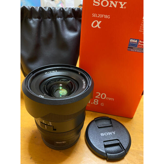 SONY - SONY FE20mm F1.8g(sony3年保証付き)極美品
