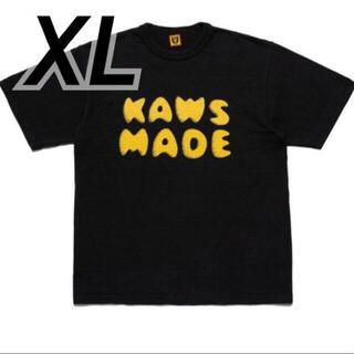 kaws made #3 black tee XL(Tシャツ/カットソー(半袖/袖なし))
