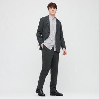 UNIQLO - エクストラファインコットンブロードシャツ(ボタンダウンカラー・長袖)