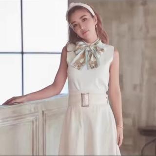 eimy istoire - 【新品】eimy istoireスカーフデザインノースリニット