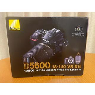 Nikon - 【新品・未開封・3年保証】Nikon D5600 18-140 VRレンズキット