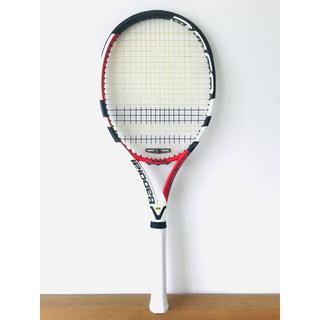 Babolat - 【新品同様】バボラ『アエロストーム』テニスラケット/G2/レッド&ホワイト