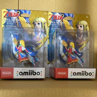 ニンテンドースイッチ(Nintendo Switch)のamiibo ゼルダ&ロフトバード スカイウォードソード 2個セット(ゲームキャラクター)
