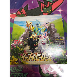 ポケモン(ポケモン)のポケモンカード イーブイヒーローズ 1BOX シュリンクなし(Box/デッキ/パック)