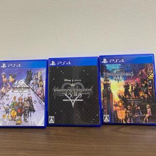 PlayStation4 - キングダム ハーツHD 1.5+2.5 , HD 2.8 , Ⅲ