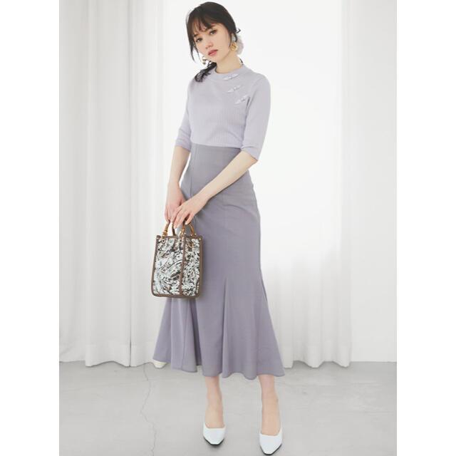 GRL(グレイル)のGRL 大人気 マーメイドスカート モカ レディースのスカート(ロングスカート)の商品写真