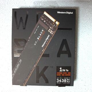 新品 WD Black SN750 SSD M.2 NVMe 1TB