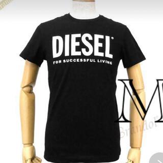 DIESEL - DIESEL ディーゼル メンズ Tシャツ Mサイズ ブラック