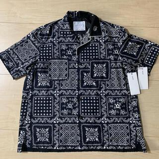 sacai - sacai Archive Print Mix Shirt サイズ2 半袖シャツ