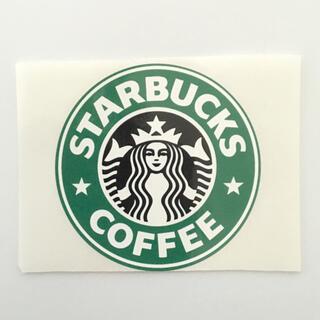 Starbucks Coffee - スターバックス ロゴステッカー シール 1枚